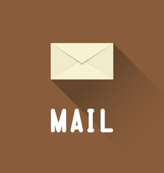 Envelope Mail icon vector image vector image