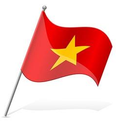 flag of Vietnam vector image vector image