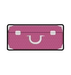 Baggage luggage bag travel trip icon vector
