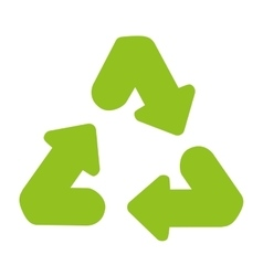 Recycle arrows reuse symbol vector