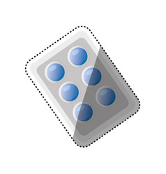 Pills medicine drug vector