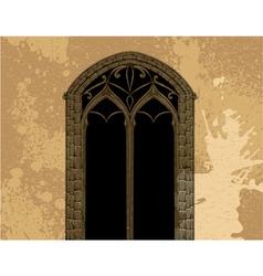 grunge gothic vector image