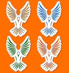 Symbols of a bird vector image