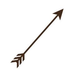 Arrow decorative isolated icon vector