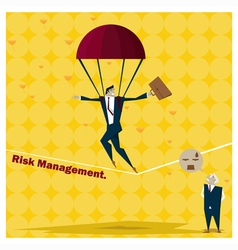 Business Idea series Risk Management concept 1 vector image
