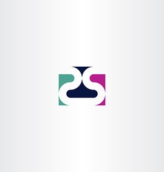 number twenty five 25 2 and 5 logo icon vector image