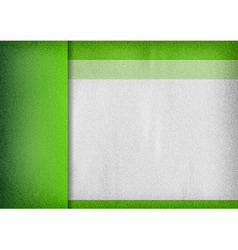 template green empty vector image vector image