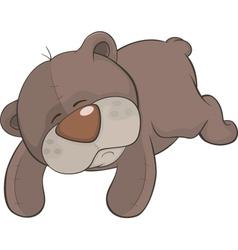 Toy bear cartoon vector image vector image