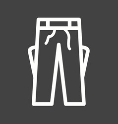 trousers vector image