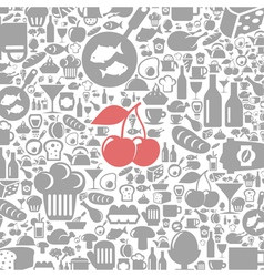 Meal a background4 vector image