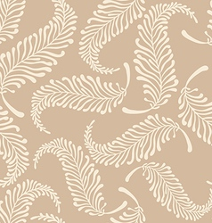 White feathers pattern vector