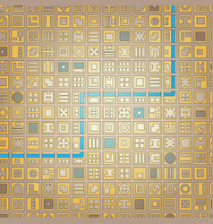 Grid city vector