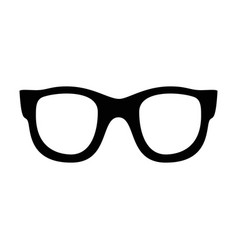 Set of various glasses stylish sunglasses for vector