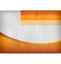 Template orange curve empty vector