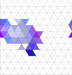 Tile triangle pattern or flat background vector
