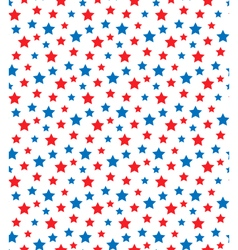 USA celebration seamless with stars in national vector image vector image