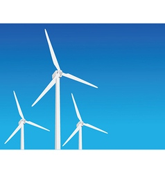 Wind power vector image vector image