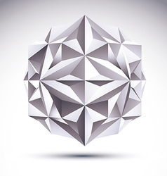 Abstract 3d geometric object clear eps 8 vector