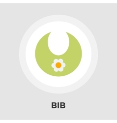 Bib flat icon vector