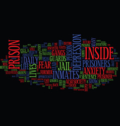 Life after prison text background word cloud vector