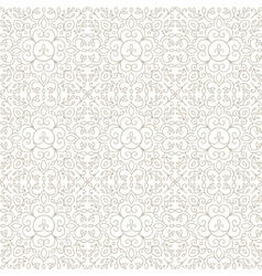 Line lace floral abstract seamless vector