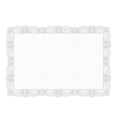 Template Gray border diplomas certificate and vector image