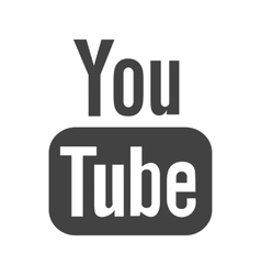 Youtube II vector image