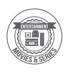 Entertainment concept design vector