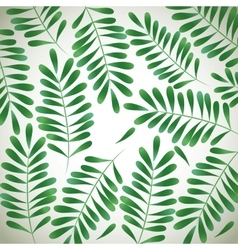 Foliage icon design vector image