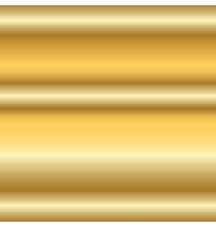 Gold texture horizontal 2 vector image vector image