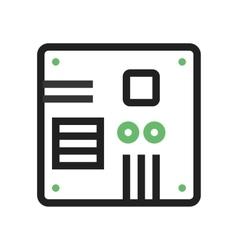 Motherboard vector