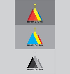 Trinity church log vector