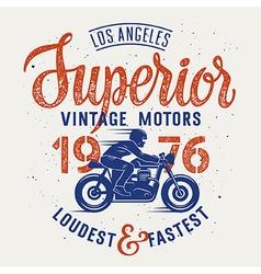 Superior motorcycle 003 vector