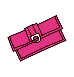 A view of purse vector