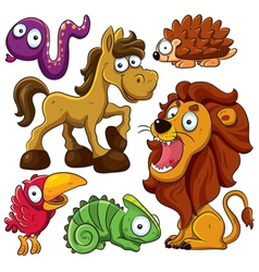 animals collection vector image