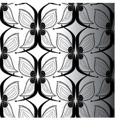 fantasy pattern vector image vector image