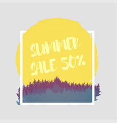 isolated colorful discount sticker on white vector image