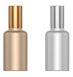 Cosmetic little bottle vector