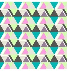 Cool modern triangle pattern abstract vector