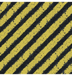 hazard yellow lines vector image vector image