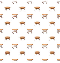Round table pattern vector