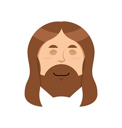 Good jesus sweet christ spiritualized religious vector