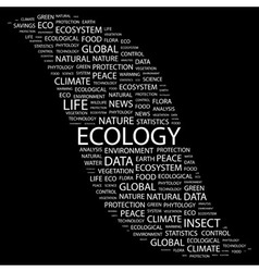 Ecology vector