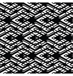 Monochrome visual abstract textured geometric vector