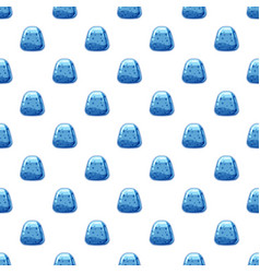 blue candy pattern vector image