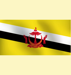 flag of brunei - vector image