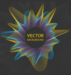 futuristic concept abstract background vector image vector image