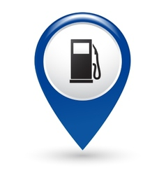 gas station pointer vector image