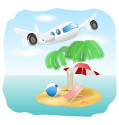 Vacation vector image
