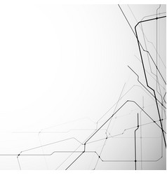 Abstract and modern lines vector